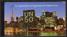 UN POSTAGE GENEVA 1995 50TH ANNIVERSARY OF THE UNITED NATIONS PRESTIGE BOOKLET