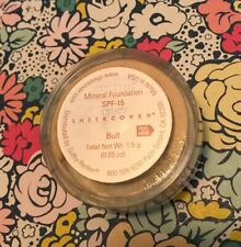 SEALED SHEER COVER MINERAL FOUNDATION LOOSE POWDER BUFF 0.05 OZ