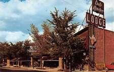 Billings Montana Dude Rancher Lodge Street View Vintage Postcard K85677