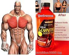 L-Carnitine 5000 c  liquid Maximum Endurance Fat Burner 16oz l carnitine plus