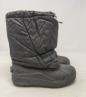 SOREL Snow Chariot Winter Boots Women's Size 6 Black LY1650 Insulated Waterproof