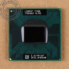 Intel Core 2 Duo T7400 - 2.16 GHz (BX80537T7400) SL9SE CPU Processor 667 MHz