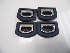 OEM 99-06 Audi TT Cargo-Bay Tie-Down Eyelet/Hook, Set of 4, Denim Blue