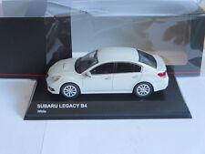 Kyosho 1:43 Subaru Legacy B4 white 03650W Brand new