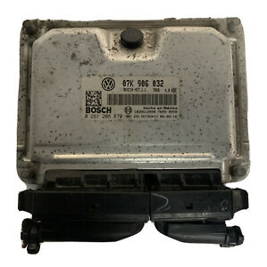Engine Control Unit 2007 Volkswagen Beetle A/T 2.5L ECM ECU | 07K 906 032 |