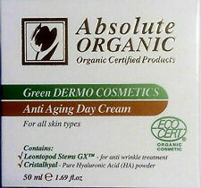 Anti Aging Day Cream Green Dermo - Absolute Organic + FREE SAMPLES