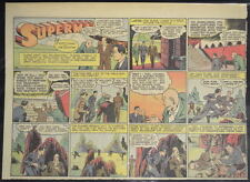 SUPERMAN SUNDAY COMIC STRIP #35 June 30, 1940 2/3 FULL Page DC Comics RARE