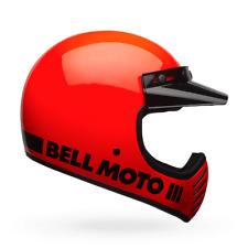 BELL Casco offroad MOTO-3 CLASSIC (57/58) M NARANJA FLUOR