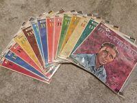 BING CROSBY Bing's Hollywood ALMOST COMPLETE 2 -15 VINYL BRUNSWICK LPs
