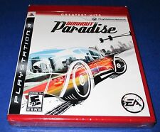 Burnout Paradise Sony PlayStation 3 *Factory Sealed! *Free Shipping!