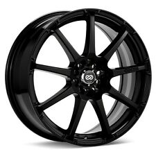 17x7/8 Enkei EDR9 5x100/114.3 +45 Black Rims Fits Honda S2000 AP2 All