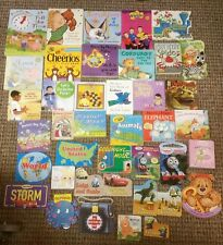 Lot of 40 BOARD BOOKS Children's Toddler Daycare Nursery Homeschool Preschool