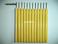 Slotted Paper Quilling Tools pack of 12 Fine quality ( economy pack ) DIY