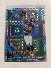 DEMARYIUS THOMAS 2010 TOPPS CHROME XFRACTOR ROOKIE CARD SP RC Denver Broncos