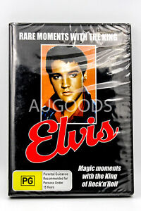 Rare Moments with the King; Elvis Presley -DVD Series -Music New