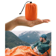 1Pack Reusable Emergency Sleeping Bag Thermal Waterproof Survival Camping Bags