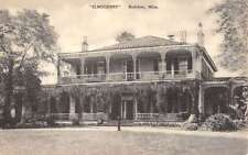 Natchez Mississippi Elmscourt Historic Building Exterior Antique Postcard K13334
