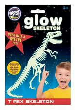 GLOW IN THE DARK T-REX Skeleton Ceiling Walls Stickers Dino Dinousaur Boys Girls