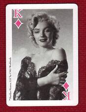 MARILYN MONROE Star Playing Card King of Diamonds CMG Worldwide