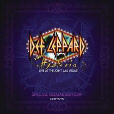 DEF LEPPARD  Viva! Hysteria/Live at the Joint, Las Vegas 2-CD+DVD-Digipak/SEALED