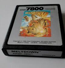"""Jeu Atari 7800 """"Meltdown"""" en loose (N°5067)"""