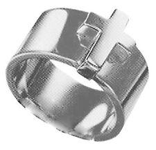 JNP  DJ0036  Dolce & Gabbana Stainless Steel Ring - Size S