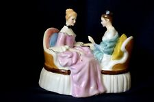 Royal Doulton Figurine HEART To HEART HN 2276 England DESIGNER M. DAVIES Ladies