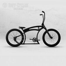 RUFF CYCLE TANGO S GERMAN CUSTOM CRIUSER CHOPPER FAT BICYCLE w MUD GUARDS