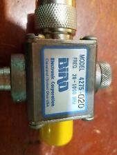 Bird 43 WattMeter Signal Sampler 4275-020 1000W 20-1000MHz