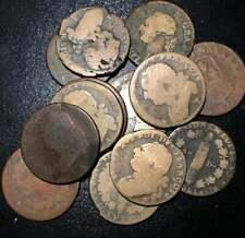 1790s King Louis XVI 1 Sol 12 Denier French Revolution Rare Copper Coin