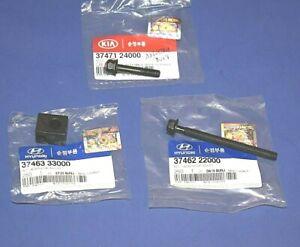 Hyundai Kia Generator Alternator Adjuster Kit 37463-33000 Nut & 37462-22000 Bolt