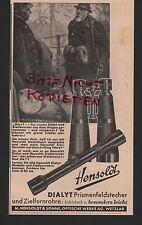 WETZLAR, Werbung 1939, M. Hensoldt & Söhne Optische Werke AG Prismenfeldstecher