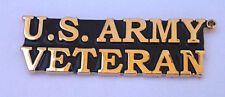 U.S. ARMY VETERAN Military Veteran Hat Pin P62781 EE