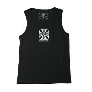 WEST COAST CHOPPERS CLASSIC TANK TOP IN BLACK **BRAND NEW & IN STOCK**