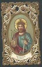 Estampa de Puntilla Canivet de San Enrique andachtsbild santino holy card
