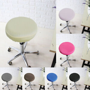 12/13/14/16inch Stretch Round Bar Stool Cover Chair Cushion Seat Pad Sleeve