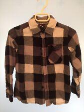 Tony hawk Flannel Plaid Button Down Fleece Shirt.