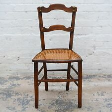 Late 19th century period oak decorative chair / dining chair