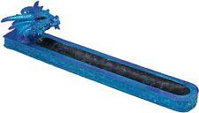 """Blue Dragon Incense Burner - Polyresin / 12"""""""