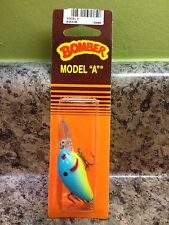 HARD TO FIND NIP OLD BOMBER MODEL A #5 ON ORANGE CARD OXBOW BREAM !!!!