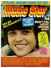 MUSIC STAR Magazine 8 Sep 1973 Sweet Slade Marc Bolan Gary Glitter Jackson 5
