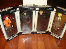 Metal Gear Solid Figure Collection 12'' Inch SET KONAMI Hideo Kojima PlayStation