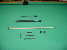 ADJUSTABLE WEIGHT PHENOLIC TIP JACKHAMMER BREAK JUMP CUE pool billiards 18-1520