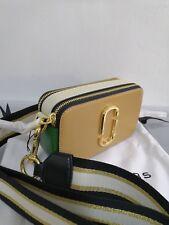 dca2438839d Marc Jacobs Snapshot Small Camera Bag Crossbody Bag Sand Castle Multi Auth