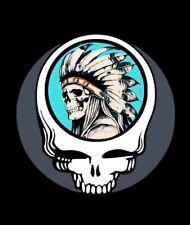 """3"""" Sticker Grateful Dead Native American Tribal Indian Punk Graffiti Art Cool"""