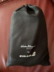NEW Salvadore Ferragamo Hard Case EVA Air Amenity Kit