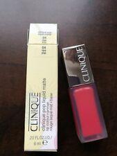 NIB Clinique pop lip matte lip color + primer 6ml ripe pop