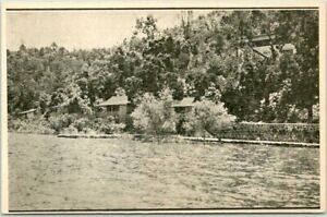 Lower Lake, California Postcard JAGO'S RESORT Clear Lake / 1940s Rates on Back