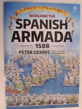 Wargame The Spanish Armada 1588 (Battle for Britain) Paper Ships