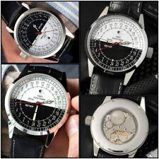 Raketa Watch 24h Mechanical Dial Russian Vintage Men's Soviet New Stock Rare Spu